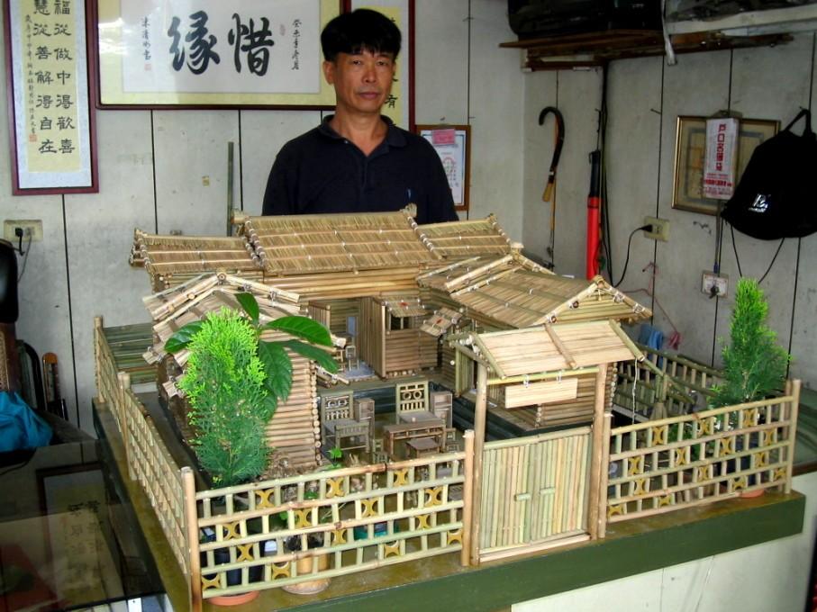 手工制作纸做高楼房子模型
